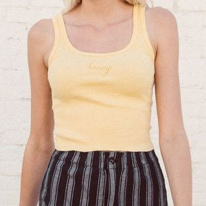 Brandy Melville honey tank top